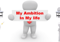 my ambition in life paragraph